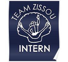 Team Zissou Intern T-Shirt Poster