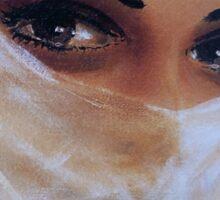 Desert Woman Sticker