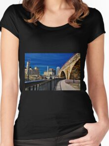 Minneapolis 13 Women's Fitted Scoop T-Shirt