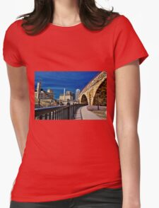 Minneapolis 13 Womens Fitted T-Shirt