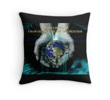 The Sea Of Creation Throw Pillow