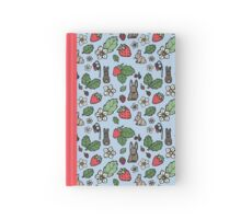 Berries and Bunnies Hardcover Journal