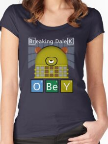Breaking Dalek Women's Fitted Scoop T-Shirt