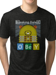 Breaking Dalek Tri-blend T-Shirt
