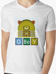 Breaking Dalek Mens V-Neck T-Shirt