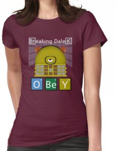 Breaking Dalek Womens Fitted T-Shirt