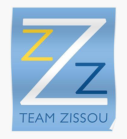 Team Zissou T-Shirt Poster