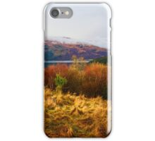 Autumn Colours at Loch Long iPhone Case/Skin