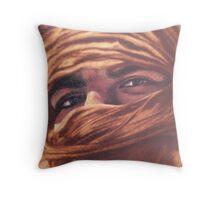 Desert Man Throw Pillow