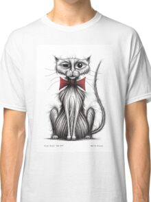 Fish face the cat Classic T-Shirt