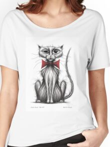 Fish face the cat Women's Relaxed Fit T-Shirt