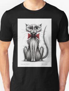 Fish face the cat Unisex T-Shirt