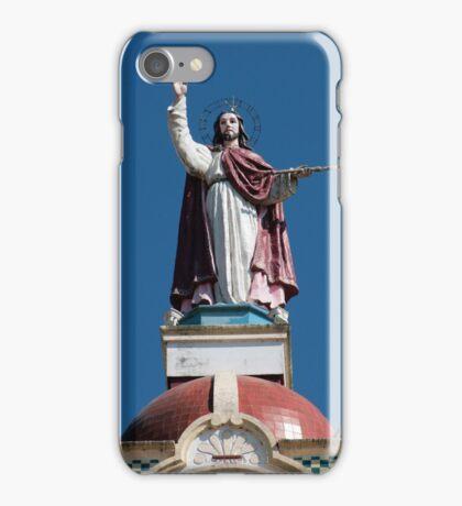 Christ Sculpture on the Matriz Church iPhone Case/Skin