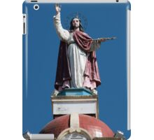 Christ Sculpture on the Matriz Church iPad Case/Skin