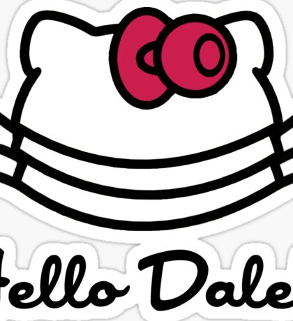 Hello Dalek Sticker