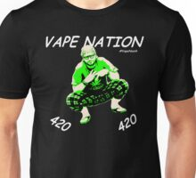 Vape Nation Fresh White 100% Organic Plastic Tee - ONE:Print Unisex T-Shirt