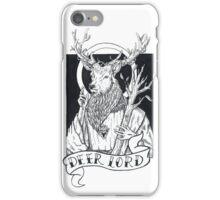 Deer Lord  iPhone Case/Skin