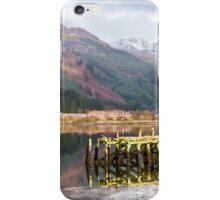 Jetty On Loch Long iPhone Case/Skin