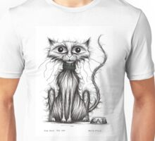 Fish face the cat Unisex T-Shirt