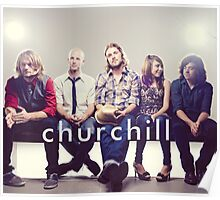 Churchill Band Poster