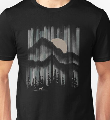 A Wolf in the Night... Unisex T-Shirt