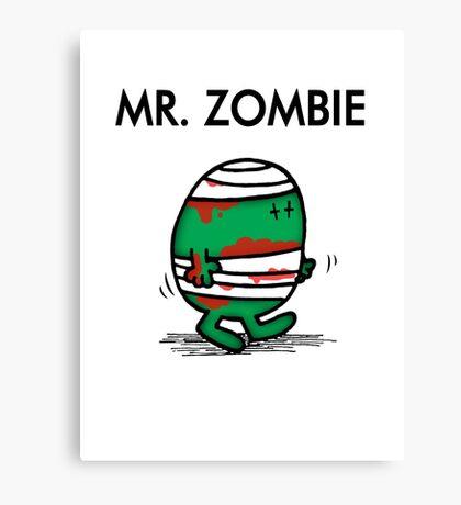 MR. ZOMBIE Canvas Print