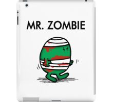 MR. ZOMBIE iPad Case/Skin
