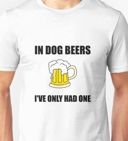 Dog Beers Unisex T-Shirt