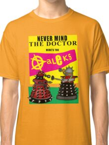 The Punk Daleks  Classic T-Shirt