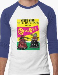 The Punk Daleks  Men's Baseball ¾ T-Shirt