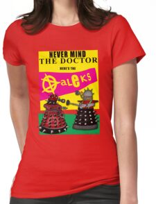 The Punk Daleks  Womens Fitted T-Shirt