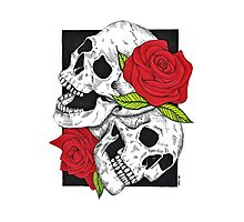 Boney Roses  Photographic Print