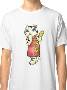 Cheongsam the Lady Cat Classic T-Shirt