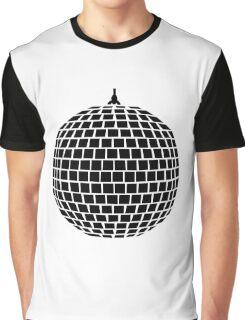Mirror ball disco Graphic T-Shirt