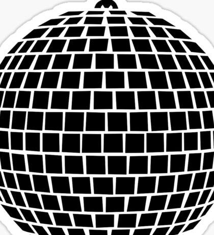 Mirror ball disco Sticker