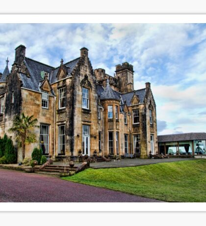 Stonefield Castle, Loch Fyne Sticker