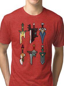 Riven's swords  Tri-blend T-Shirt