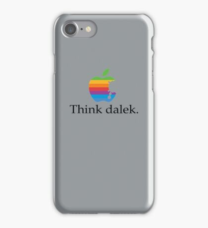 Think even more dalek iPhone Case/Skin
