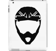 Motocross helmet iPad Case/Skin