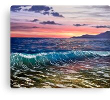 Black sea Canvas Print