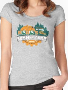 Robo's Summer Camp Women's Fitted Scoop T-Shirt
