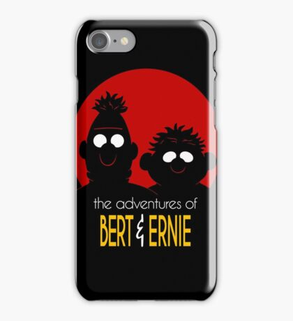 The adventures of bert & ernie iPhone Case/Skin