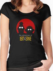 The adventures of bert & ernie Women's Fitted Scoop T-Shirt