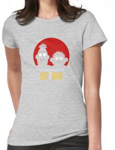 The adventures of bert & ernie Womens Fitted T-Shirt