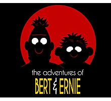 The adventures of bert & ernie Photographic Print