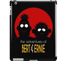 The adventures of bert & ernie iPad Case/Skin