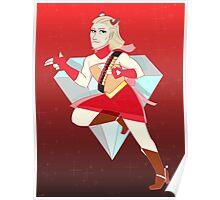 Magical Girl Ocelot Poster