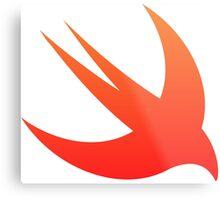 Swift Programming logo Metal Print