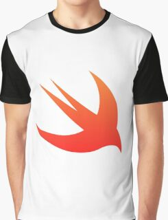 Swift Programming logo Graphic T-Shirt