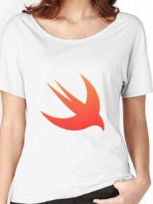 Swift Programming logo Women's Relaxed Fit T-Shirt